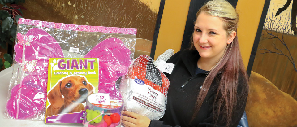 Sara Darden is asking for the community's help to make the annual Elks Christmas Baskets a success. Applications are now available and donations are being sought.