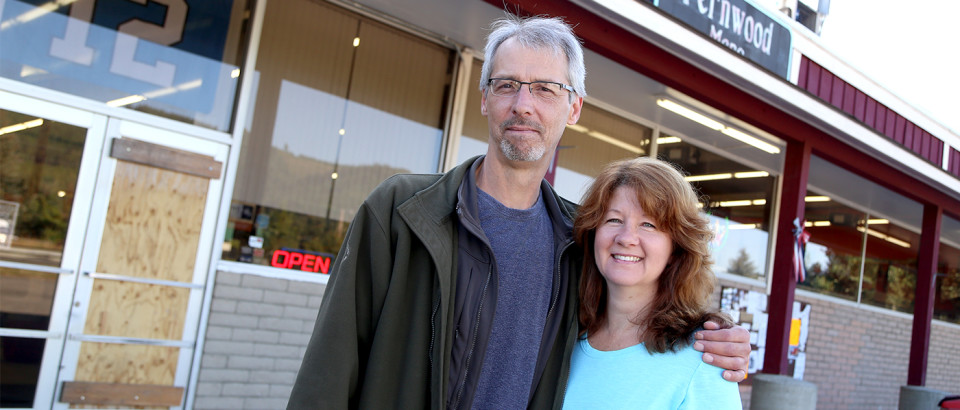 After a break in July 22, John and Kelly Beauchman have picked up the pieces and are making plans for the future. They plan to renovate their store's entrance, as well as install new security systems to ensure the safety of their store.