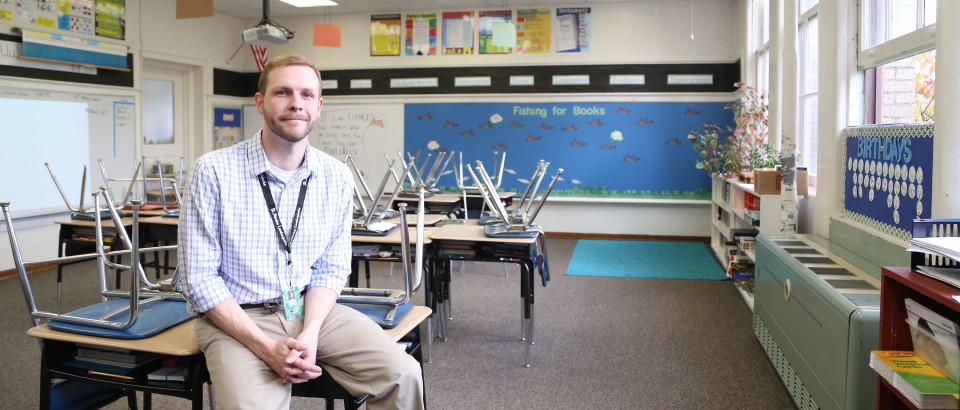 Matt Rogers teaches fourth grade at Heyburn Elementary.