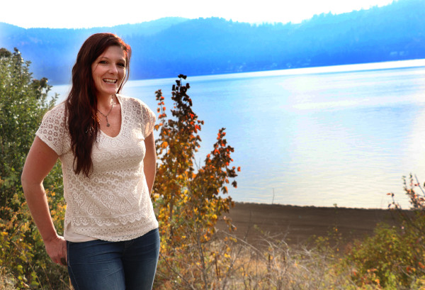 Once again, the city of Harrison on Lake Coeur d'Alene provides a beautiful backdrop for the Oktoberfest celebration. This is the eighth year Teri Riberich has organized the event.