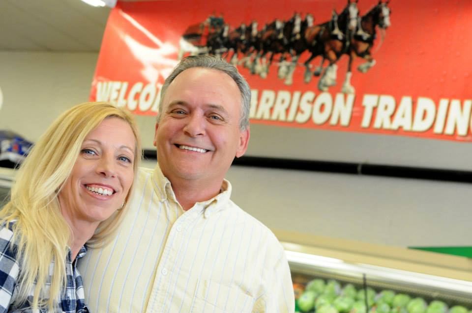 Marie and Tim Neville took over as new owners of the Harrison Trading Post last week. They plan to extend summer hours and accept food stamps in the near future.