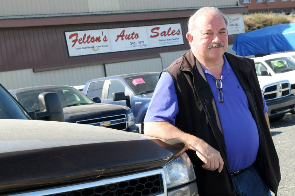Dan and Barb Felton, owners of Felton's Auto Sales sponsor the Elk's Pork Chop Feed each year to benefit the Elk's Youth Scholarship Fund. The 14th annual event is Saturday.