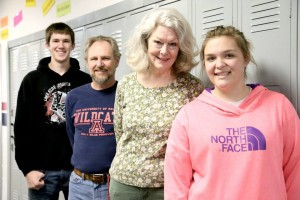 As part of the NISTAR program, Lakeside High School seniors Jonathan Daman and Sheyenne Shamburg each selected a teacher who had an impact on them. Jonathan selected Brad Veile and Bonnie Wilcoxson was chosen by Sheyenne.