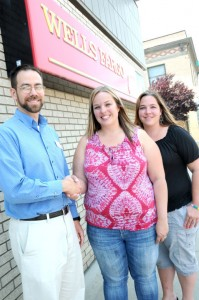 Judd Wilson, the manager of the St. Maries Wells Fargo branch, was instrumental in convincing the company to make a donation to the St. Maries Relay for Life event. Wells Fargo is the first Platinum Sponsor donating $1,000. Organizers Starla Thompson and Crystal Houck said they are encouraged by the increased support that the community has offered the event this year.