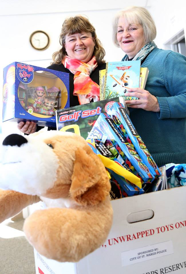 Celia Sibert and Renee Duke are gearing up the annual Toys for Tots effort. Applications are now available at the St. Maries Police Department, St. Maries City Hall and the Department for Motor Vehicle Services.