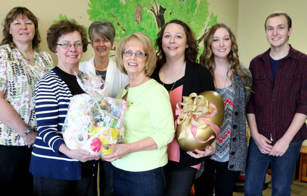The BetterCARE Easter Bake Sale is from 9 a.m. to 1 p.m. April 3 at the Eagles Lodge parking lot. The golden egg raffle returns and individuals have a chance to win Easter baskets through the Easter egg raffle. Those who have helped with the bake sale include Eula Needham, Carol Humphrey, Patti Wheeler, Dee Coulter, Justine Juarez and St. Maries High School students Kendall Brusseau and Blake McGregor, members of the Health Occupation Students of America club that donated chocolate bunnies for the Easter baskets.