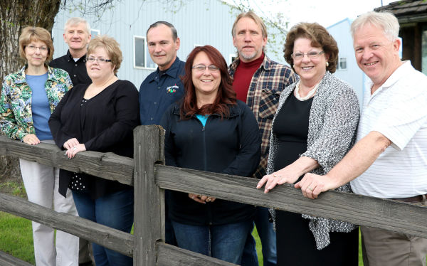 The St. Maries Chamber of Commerce will recognize an organization, business and two individuals at its banquet Friday night. Hughes Ace Hardware, owned by Liz and John Hughes was named Business of the Year. The Paul Bunyan Days committeee represented by Kristi Wear, Dale Hill, Windy Sotin and Randy Nold was named Organization of the Year. Ginny Oakes and Dan Hammes share the Citizen of the Year honor.