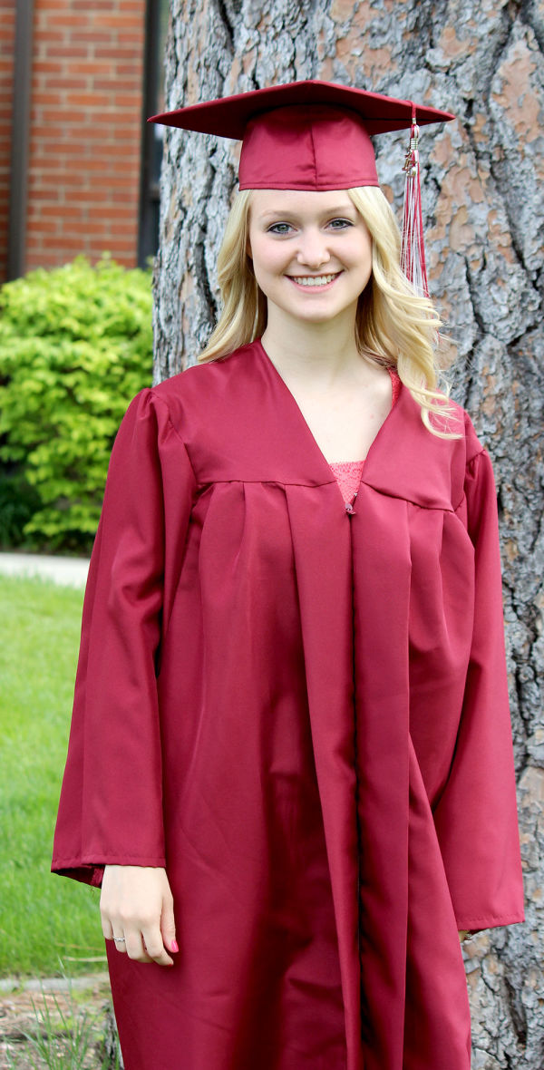 Rhegan Humphrey graduated from North Idaho College with her associate's degree 15 days before receiving her high school diploma from St. Maries High School.
