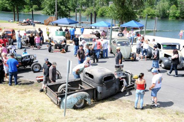 Rat rods took center stage in St. Maries during the 2014 Rattitude Rod Rumble. The third annual Rattitude Rode Rumble brought several people to Aqua Park throughout the morning and afternoon hours.