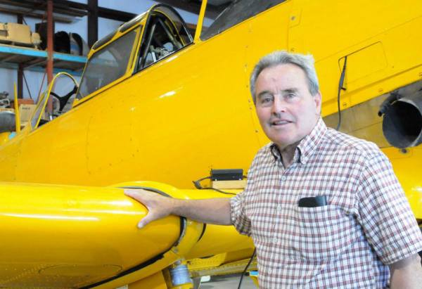 John Koelbel and his wife have helped organize a fly-in at the Benewah County Airport. This year's event is July 18.