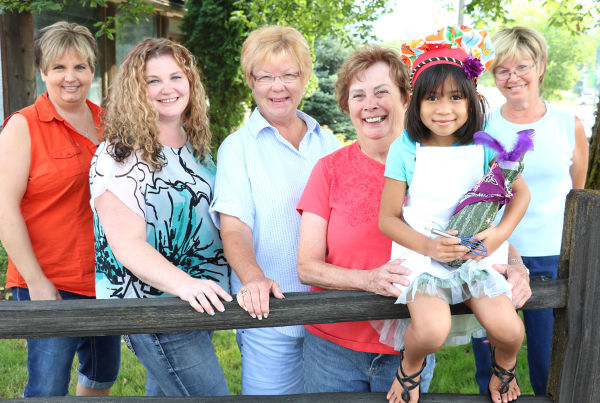 Once again, the St. Maries Rotary Club's Family Fun Day will be held in conjunction with they Benewah County Fair. Lynn Masterson, Sandee Reedee, Stacie Lamb, Carol Humphrey, Nisha Banjao and Nancy Malensky invite families to the fair and to participate in a variety of additional events planned as part of the two-day Family Fun Day event. A barbecue contest and vegetable decorating contest is planned.
