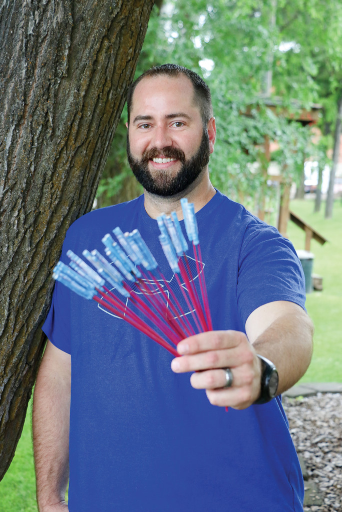 Jordan Hall is the lead for organizing the annual fireworks show in Harrison July 4. And while the fireworks he holds are small, the show next week will be a much bigger blast.