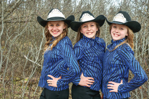 The Idaho State Saddle Club roayalty this year is represented by local Tensed grls - Baylie Kelly, Eliya Kelly and Bostyn Kelly. The Idaho State Saddle Club's state O-Mok-See is also being held locally this weekend at the Benewah County Fairgrounds.