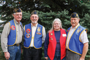 Jim Shubert, Tim Hall, Jeanne and Dean Johnson invite area veterans to the Benewah County Veterans Day Dinner at 1 p.m. Sunday, Nov. 12.