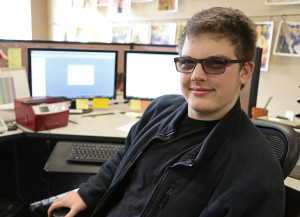 Jacob Spence, the head programmer for the Jack Bots robotics team, taught himself computer coding through online programs. In addition to making robots, his skills will translate to a career later in life.